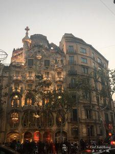 [See] Spain, Barcelona- Casa Batllo Antoni Gaudi's work