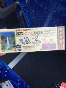 [Move] Getting bus pass around Nikko, which pass to choose?