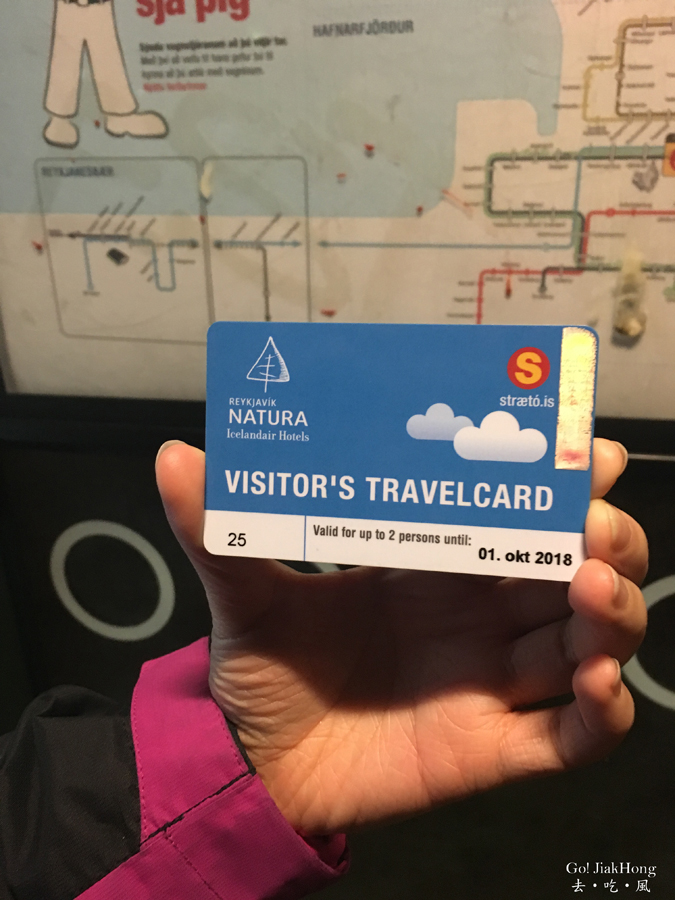 Iceland useful Information-bus card