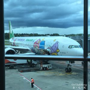 [Fly] Hello Kitty Jet experience with EVA Air