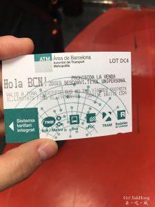 [交通] 西班牙-巴塞羅納市區交通資訊