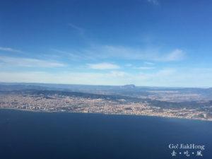 [飛行] 乘搭伏林Vueling航空返回巴塞羅納